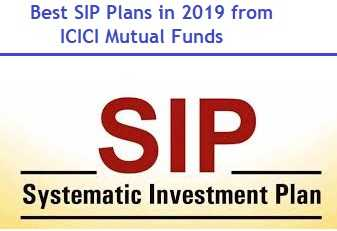 Best SIP Plans in 2019 from ICICI Mutual Funds
