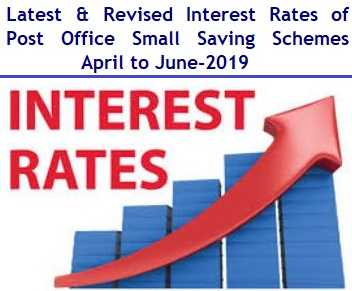 Latest Interest Rates of Post Office Small Saving Schemes – April to June-2019
