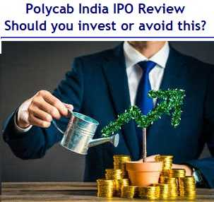 Polycab India IPO Review - Should you invest