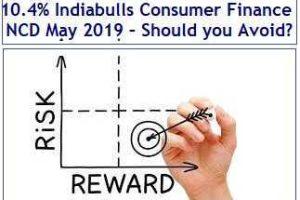 10.4% Indiabulls Consumer Finance NCD May 2019 – Should you Avoid?