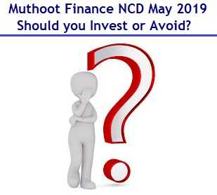 Muthoot Finance NCD May 2019 Review