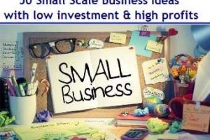 50 Profitable Small Scale Business Ideas with low investment