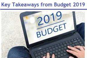 Key Takeaways from Budget 2019-2020