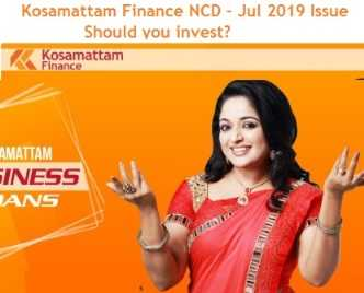 Kosamattam Finance NCD July 2019 Review