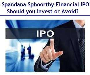 Spandhana Sphoorthy IPO Review