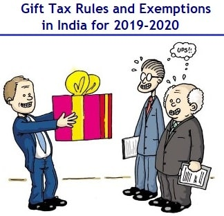 Gift Tax Rules and Exemptions in India for 2019-2020-min