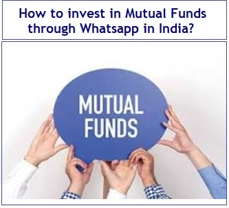 How to invest in Mutual Fund Schemes through Whatsapp in India-min