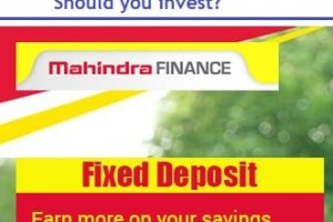 Mahindra Finance FD Schemes 2019 Review