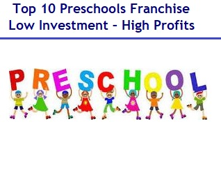 Top 10 Preschools Franchise in India – Low Investment – High Profits