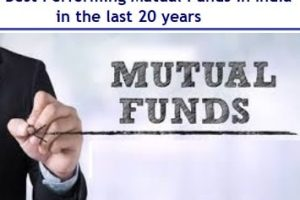 Best Performing Mutual Funds to invest in the last 20 years - 2019