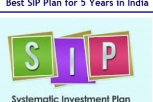 Best SIP Plans for 5 years to invest in India in 2019