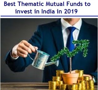 5 Best Thematic Mutual Funds to invest in India in 2019