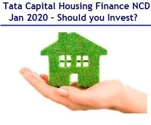 Tata Capital Housing Finance NCD Jan 2020 – Should you Invest?