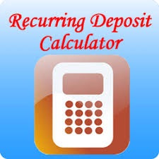 Recurring Deposit Calculator importance