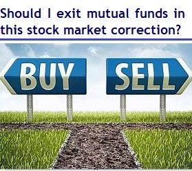 Should I exit mutual funds in this stock market crash