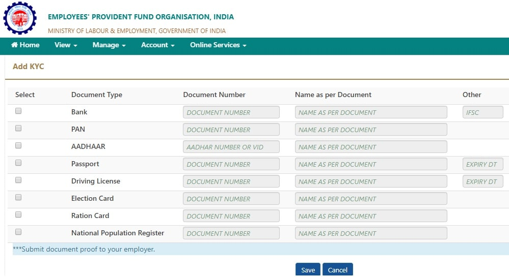 Step-3b-How to withdraw EPF Online