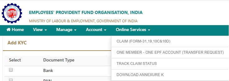 Step-4a-How to withdraw EPF Online