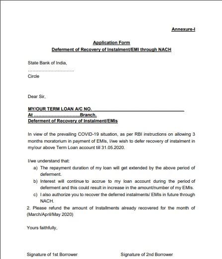 Annexure-1-3months loan deferment-SBI