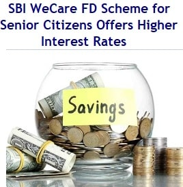 SBI WeCare Fixed Deposit Scheme for Senior Citizens – Are there any better alternatives?