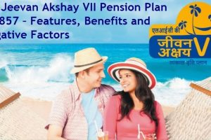 LIC Jeevan Akshay VII Pension Plan No 857 – Features, Benefits and Negative Factors