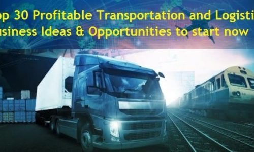 Profitable Transportation and Logistics Business Ideas