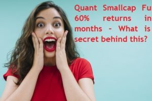 Quant Small cap mutual Fund Performance review