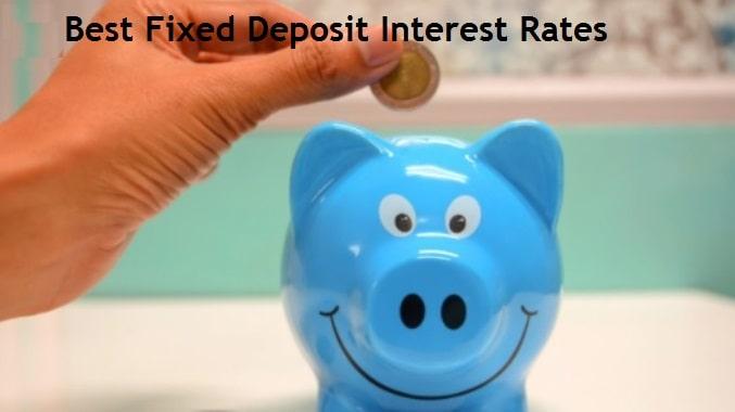 Best FD Interest Rates in India [Dec-2020]
