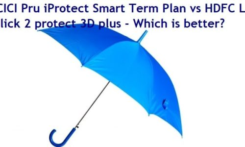 ICICI Pru iProtect Smart Term Plan vs HDFC Life Click 2 protect 3D plus - Which is better