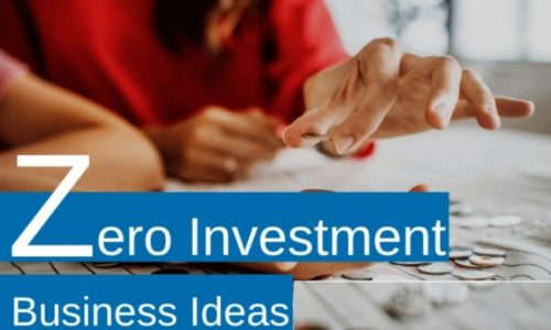 Zero Investment Business Ideas in India