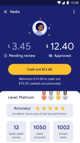 Google Task Mate App - Earn money online - Dashboard - Step-7