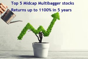 These 5 Midcap Multibagger stocks gave returns up to 1100 percent- 1 Lakh turned up to Rs 12 Lakhs in 5 years