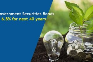 These Government bonds would give @ 6.8percent interest rate for next 40 years