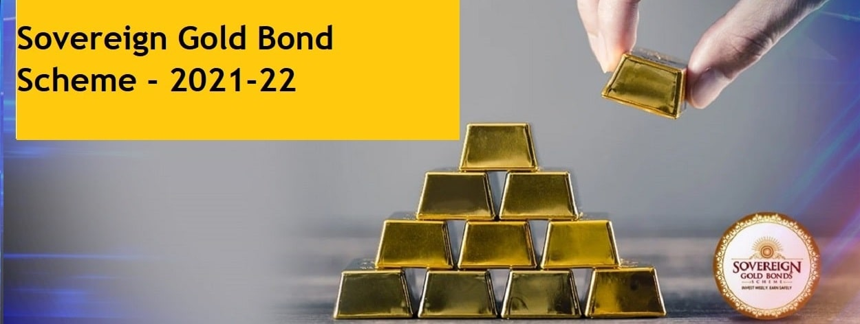 Sovereign Gold Bond 2021-22 Series-II Opens on 24th May