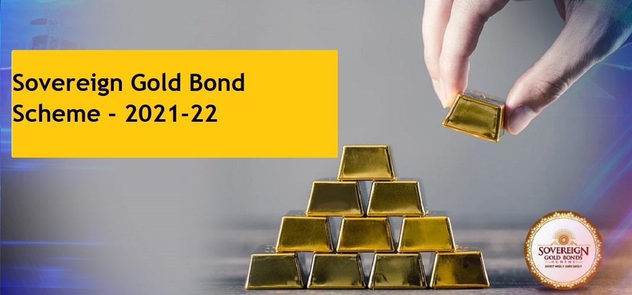 Sovereign Gold Bond Scheme 2021-22 (Series-I) – Issue Price and Details