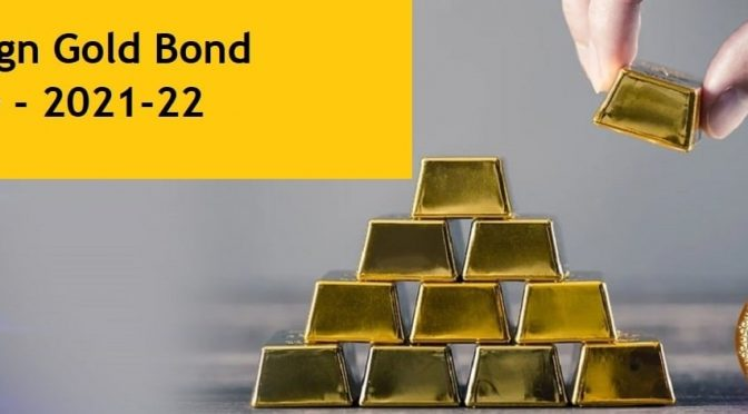 Sovereign Gold Bond Series V (2021-22) – Should you avoid and buy from secondary market now?